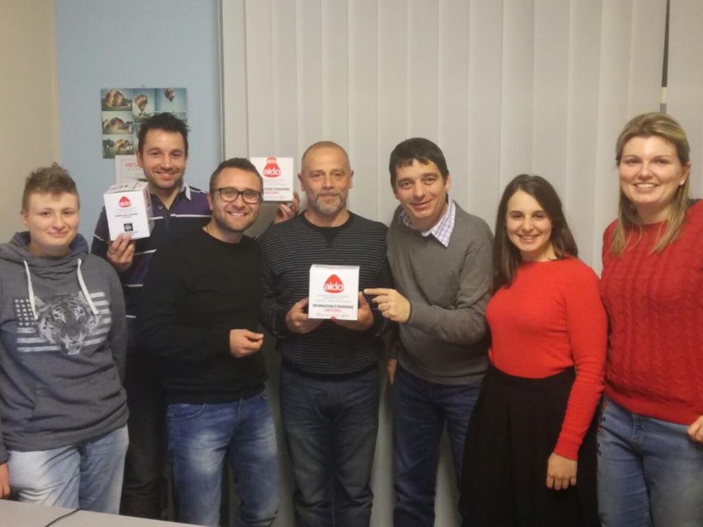 """A.I.D.O. """"Donazione è informazione, #sostienici"""""""