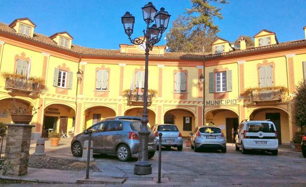 il municipio di Carpeneto