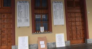 Giornata della Memoria, portici Saracco