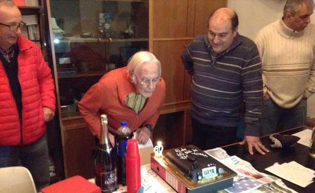 Aldo Castellucci festeggia 60 anni da radioamatore