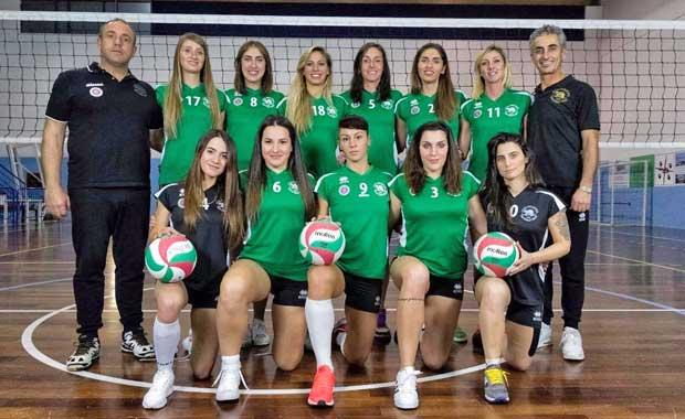 volley femminile, la squadra Capo d'Orso Palau