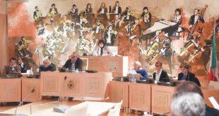 Sala del consiglio comunale di Acqui Terme