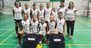 Formazione Under 12 dell'Acqui Volley