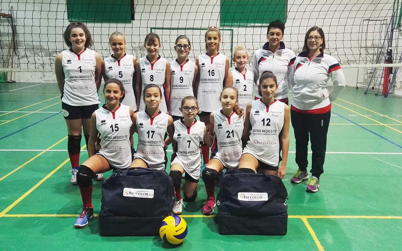 Formazione Under 12 dell'Acqui Volley