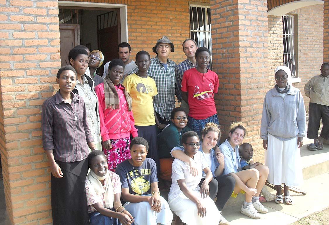 tre giovani ovadesi in Burundi