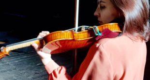 Violinista Adele Viglietti