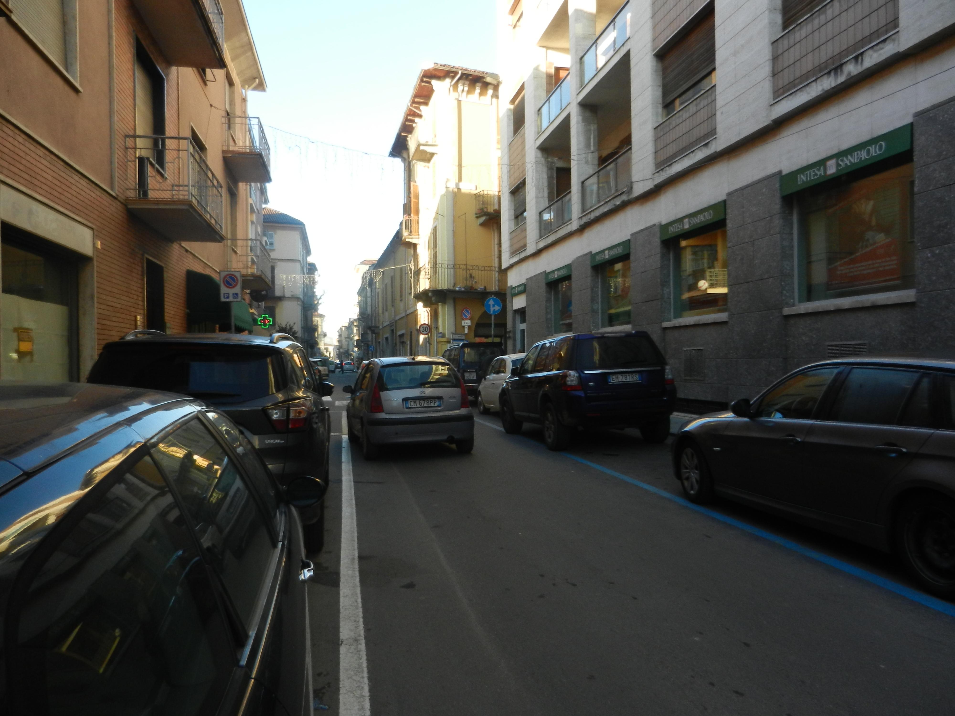 Nizza Monferrato, via Pio Corsi