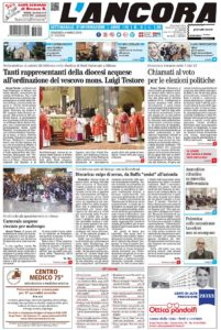 prima pagina L'Ancora n.9 2018