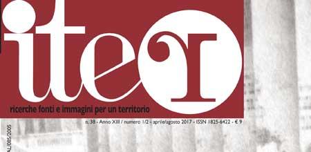 Photo of ITER 38 in edicola:  territorio e identità