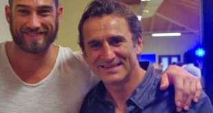 Roberto Bruzzone con Alex Zanardi