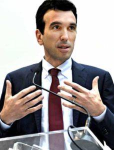 il ministro Maurizio Martina
