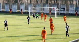 calcio amichevole Acqui-Ponti