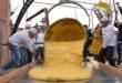 Ponti, scodellamento del polentone