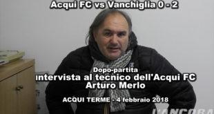 Arturo Merlo, Video intervista