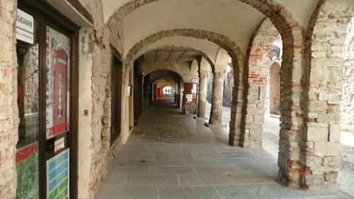 Restauro portici di Cortemilia
