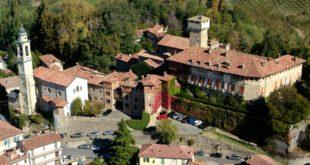 Veduta aerea del Castello di Tagliolo Monferrato