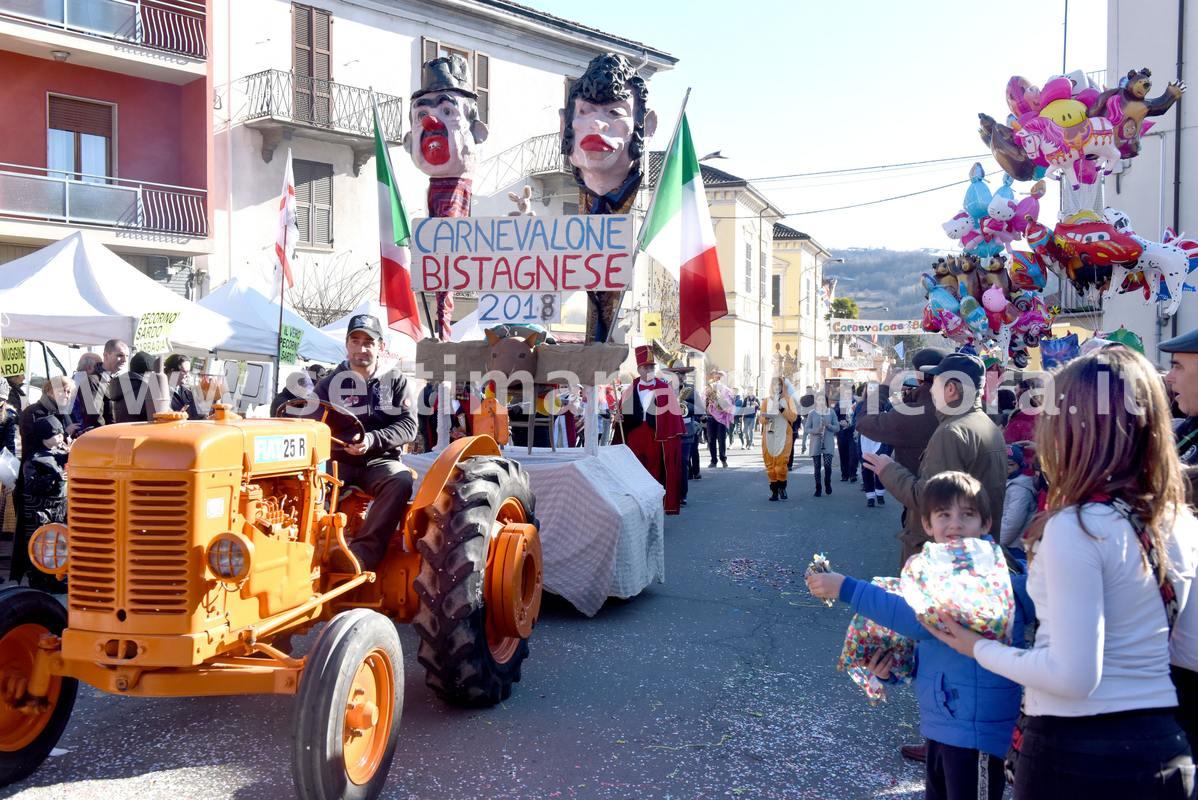 Carnevalone bitagnese 2018 - alcuni momenti della sfilata