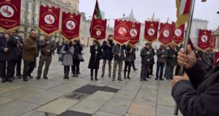 I donatori castiglionesi a Torino per celebrare i 60 anni della Fidas