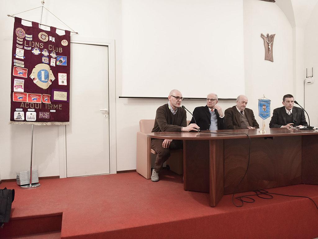 Evento Lions: applausi per Grassia e Casarin ad Acqui