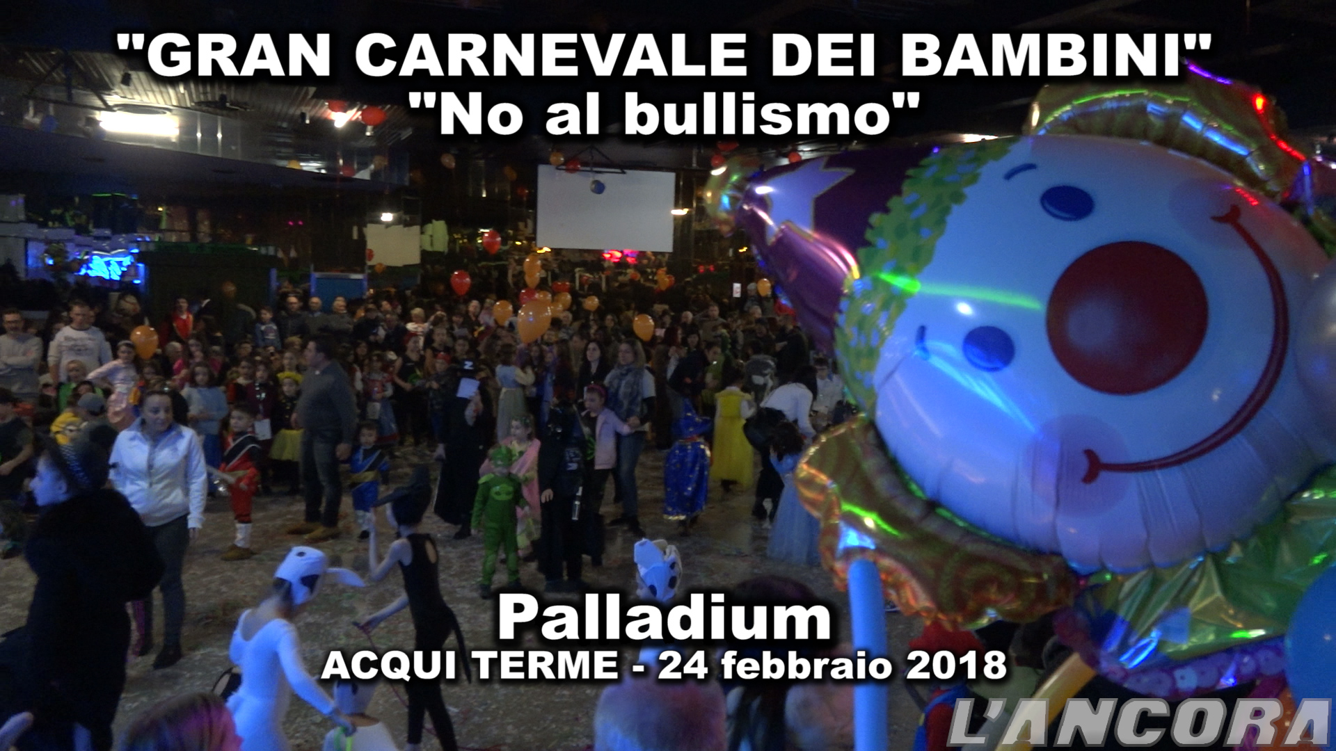 "Video Carnevale ""no al bullismo"""