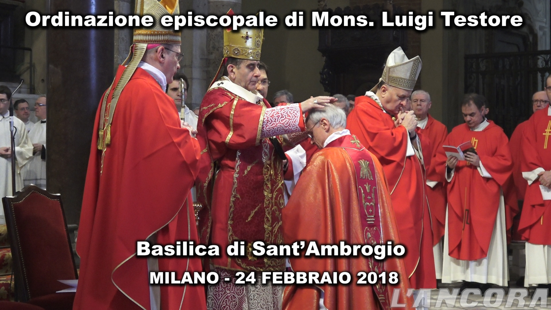 Milano - Ordinazione episcopale di Mons. Luigi Testore (VIDEO)