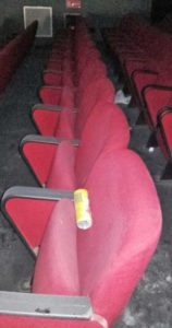 teatro Balbo di Canelli, vandali
