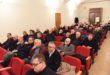 Sacerdoti e diaconi riuniti con il nuovo vescovo di Acqui (VIDEO)