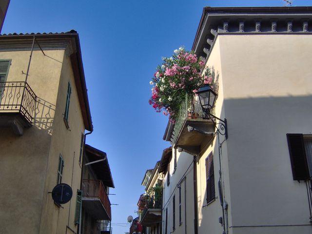 Fiori sui balconi