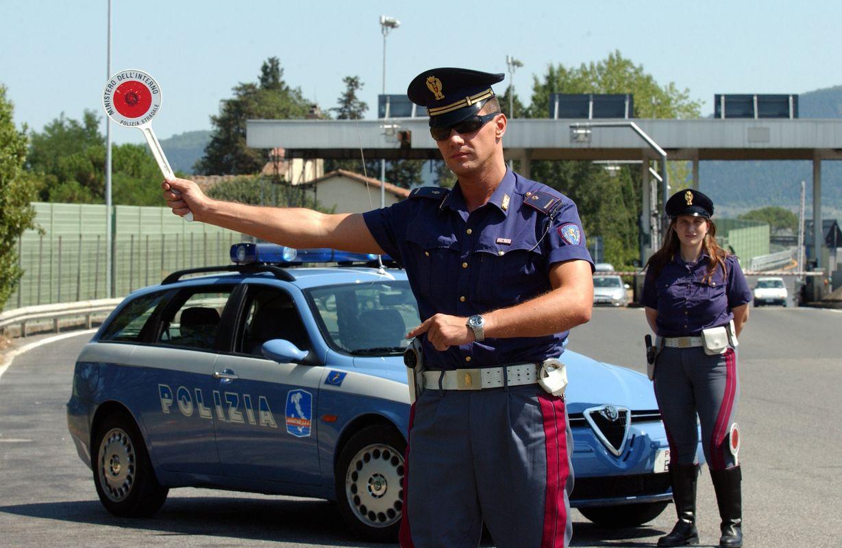 polizia autostradale