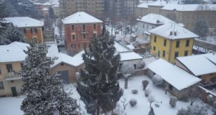 La nevicata dei primi di marzo ad Ovada