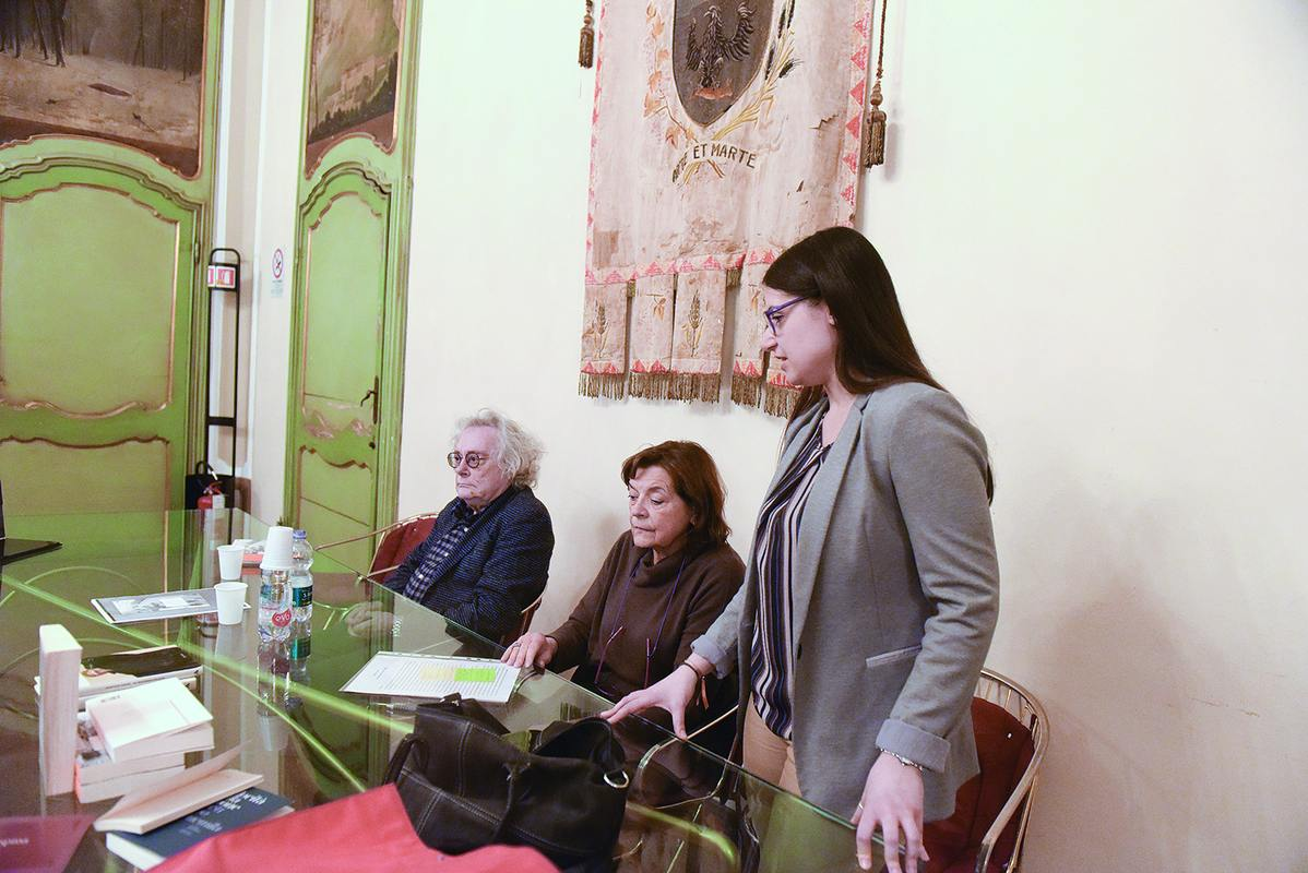 Il poeta Maurizio Cucchi è stato ospite di Archicultura