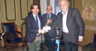 Dal Lions Club di Ovada un assegno per l'acquisto di strumenti musicali