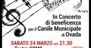 Silvano d'Orba: concerto per il Canile