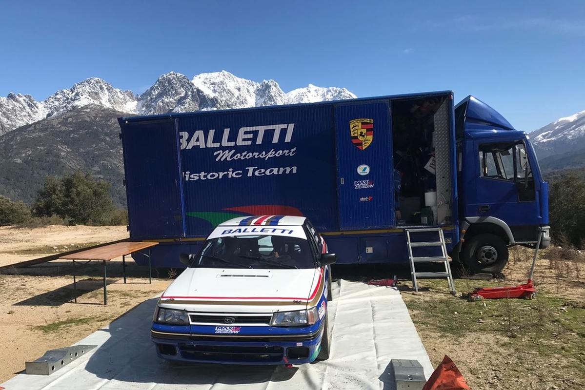 Balletti Motorsport: si ritorna in Corsica il 25 marzo
