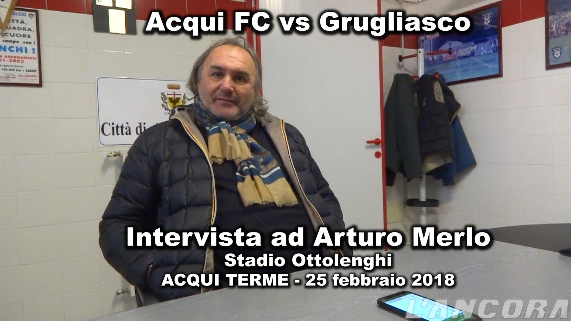 Intervista ad Arturo Merlo