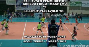 Video pallavolo femminile