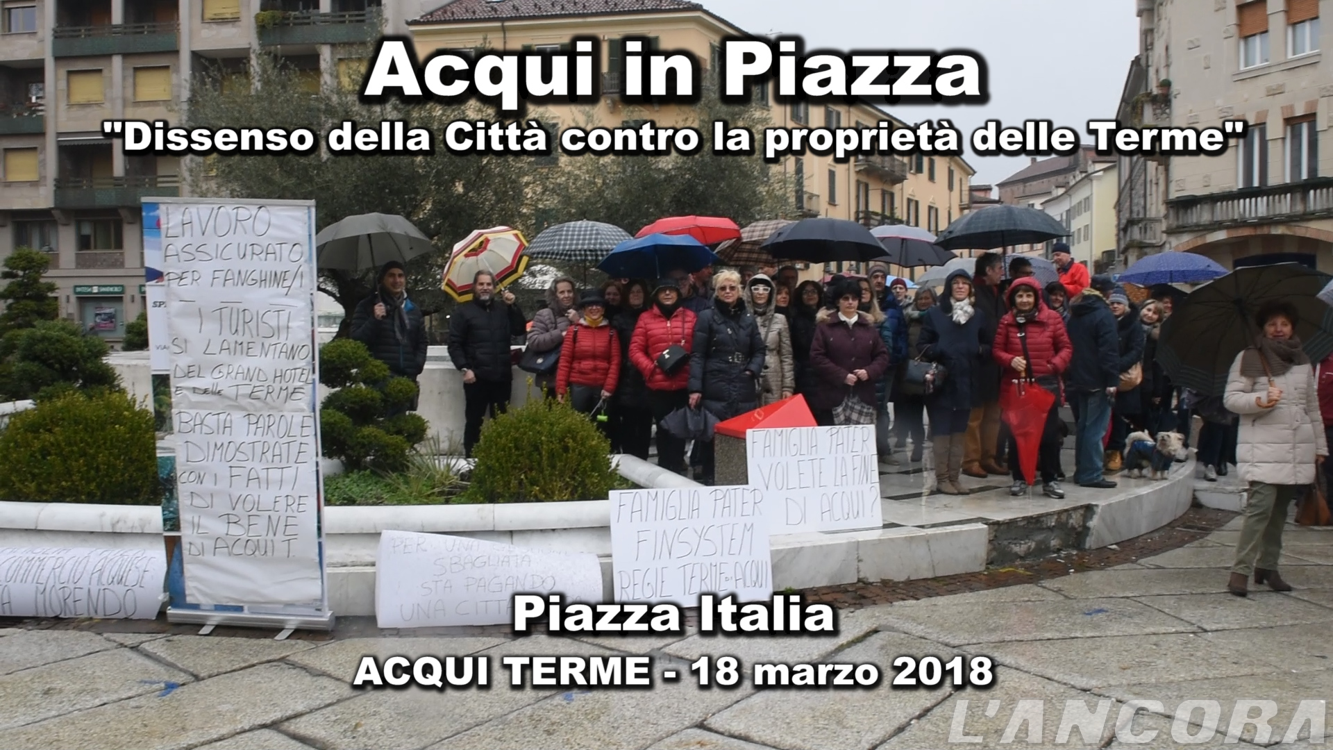 "Video ""Acqui in piazza"""