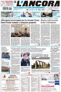 prima pagina del numero 14 dell'8 aprile