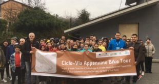 appennino bike Tour - lo striscione