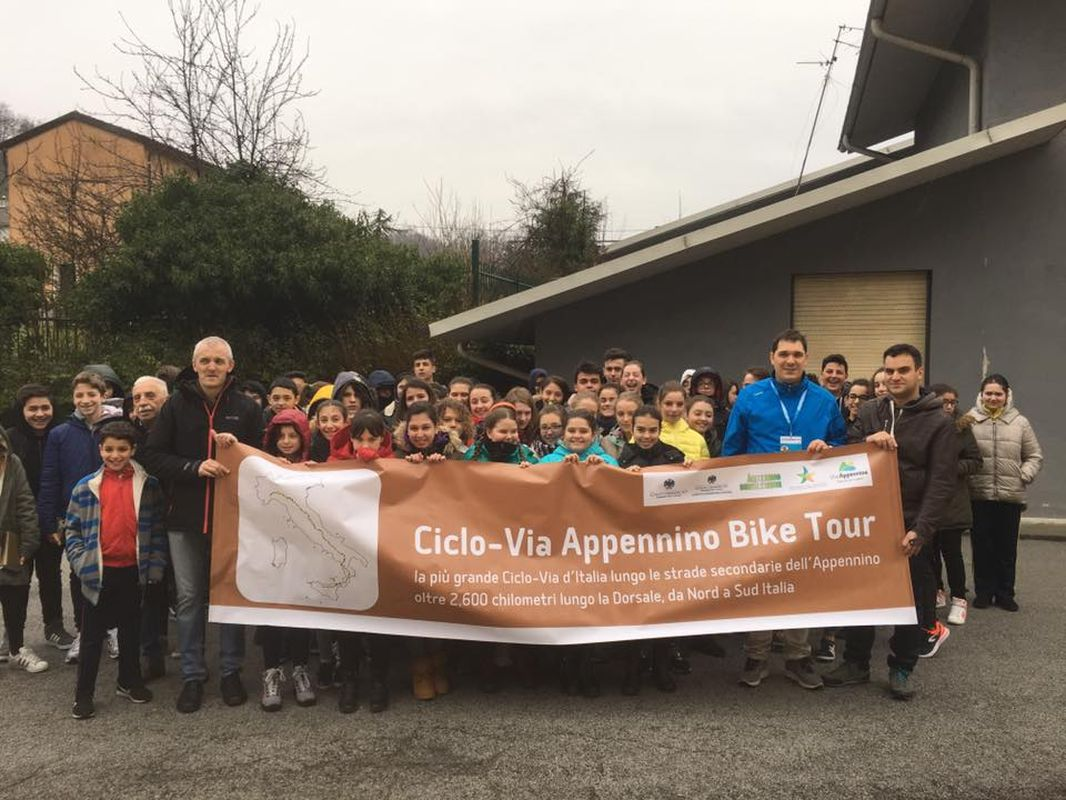 appennino bike Tour - lo striscione