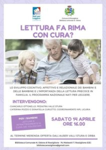 locandina biblioteca Rossiglione