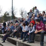 Pallapugno, il pubblico alla gara Cortemilia-Cuneo