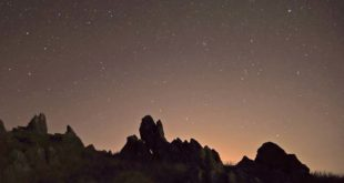 Parco del Beigua di notte