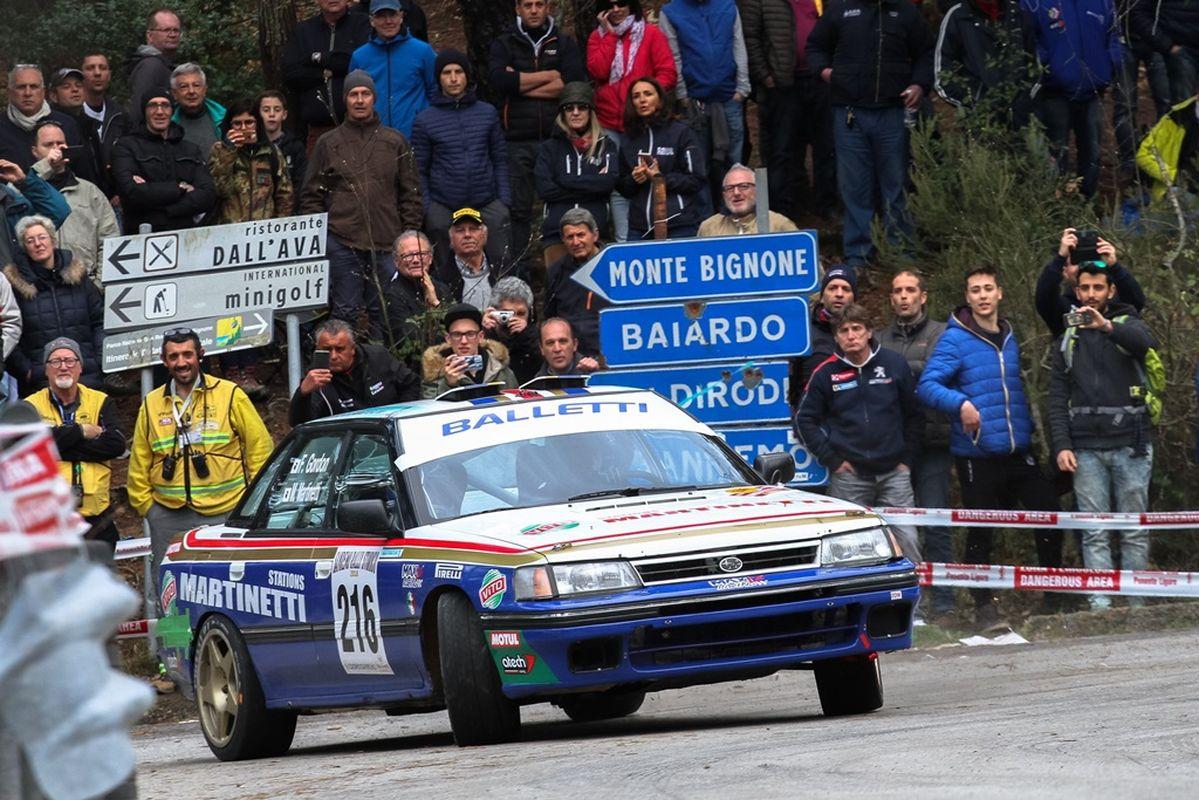 rally auto storiche a Sanremo
