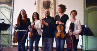 """Ai """"Giovedì musicali"""" di Acqui, Concerto del quintetto """"Le Incognita"""" String e Drums"""
