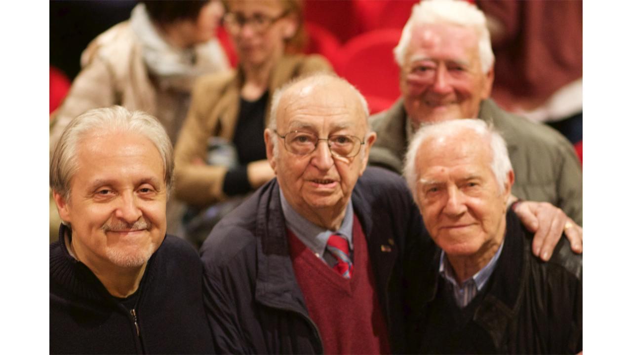 Gian Piero Alloisio, Pasquale Cinefra, Mario Ghiglione