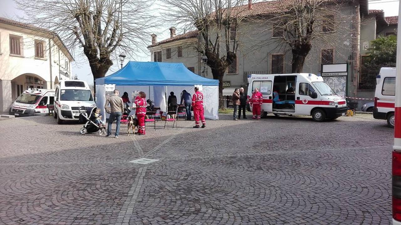 Cassine: in tanti alla donazione di sangue