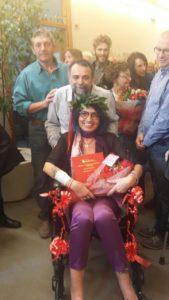 Al reparto oncologico, Laurea in psicologia all'Ospedale Civile di Ovada