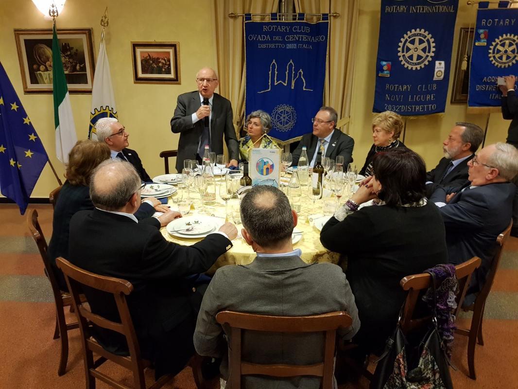 Il Rotary Club Ovada e l'impegno per la salute della gente