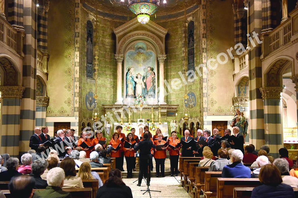 Sabato 21 aprile a S.Spirito, Concerto di Primavera Corale Città di Acqui Terme